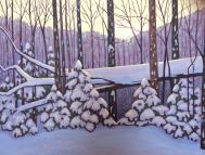 """Peace on Earth, acrylic on texturized canvas, 40 x 30"""""""